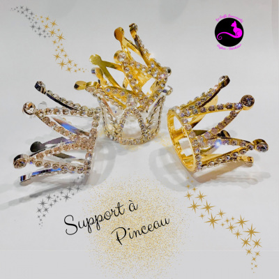 Support de pinceau Couronne
