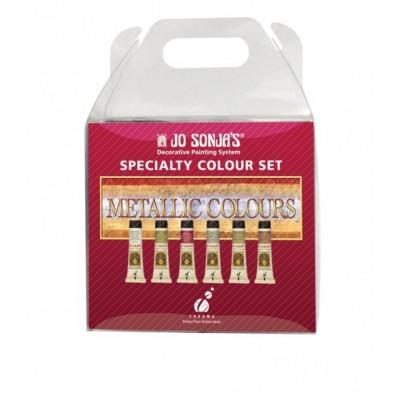 JO SONJA'S kit de peinture métallique (Nail Art)