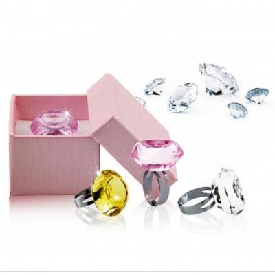 Bague diamant pour colle a cils