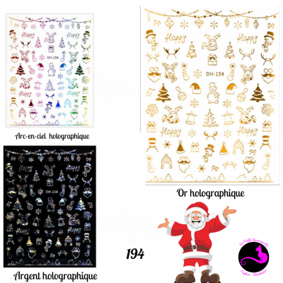 Sticker Noël 194