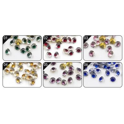 strass cristal de couleurs