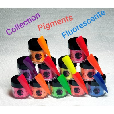 Collection pigments fluorescente