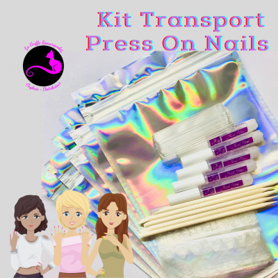 Kit Transport Press On Nails (1)