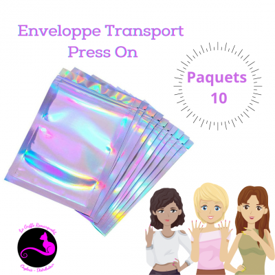 Enveloppe Transport Press On